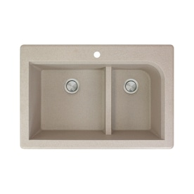Transolid Diamond Dual Mount 15 In X 17 In Brushed Stainless Single Bowl 1 Hole Kitchen Sink All In One Kit In The Kitchen Sinks Department At Lowes Com