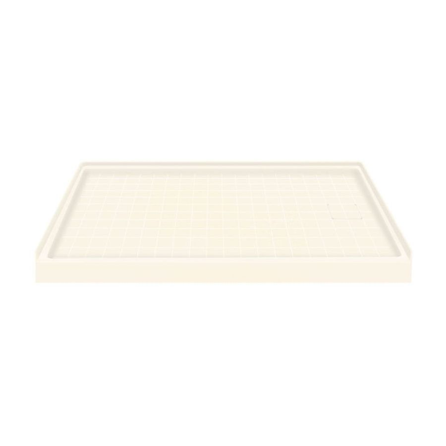 Transolid Cameo Solid Surface Shower Base (Common: 60-in W x 30-in L; Actual: 60-in W x 30-in L)