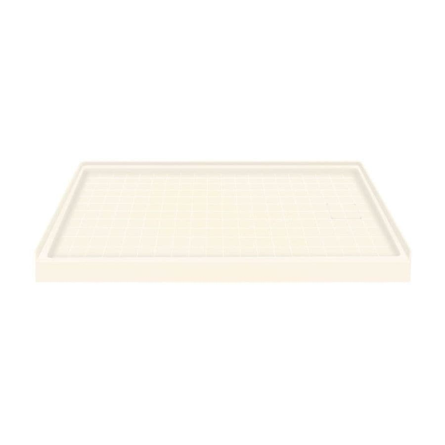Transolid Cameo Solid Surface Shower Base (Common: 60-in W x 32-in L; Actual: 60-in W x 32-in L)
