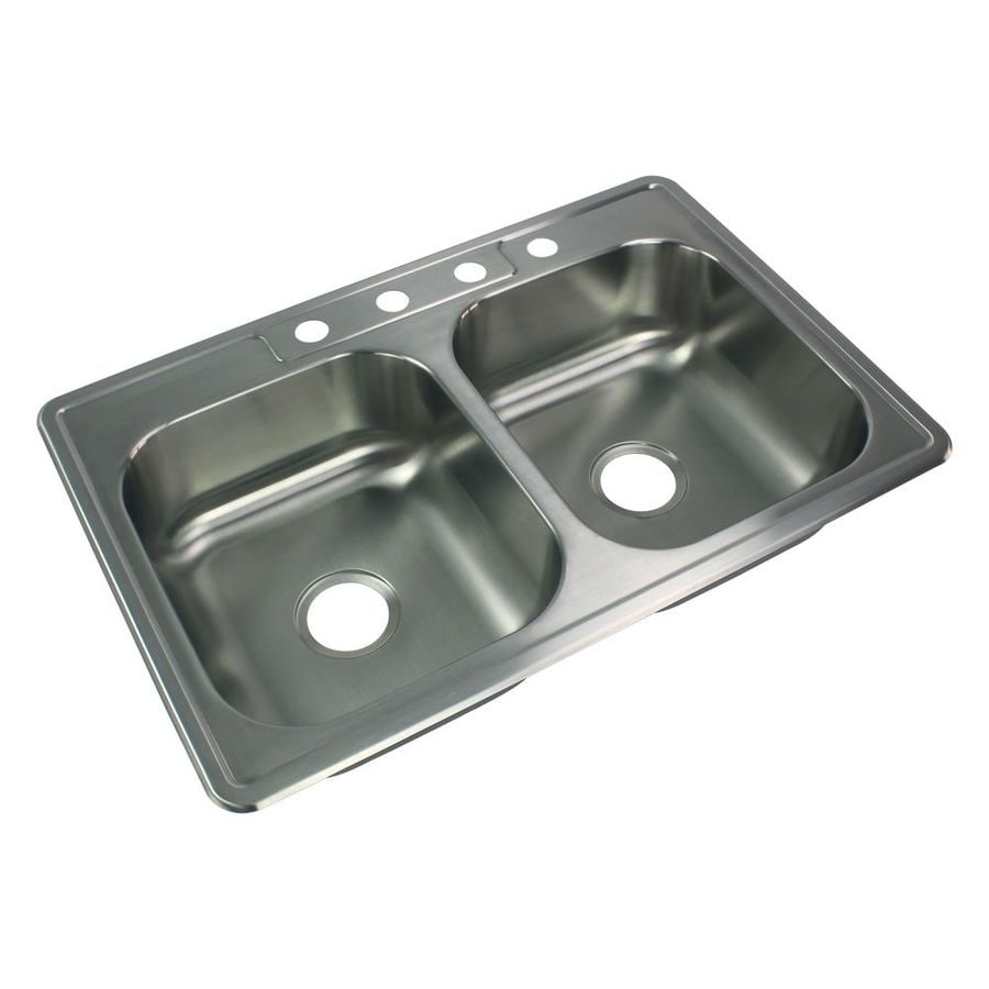 Transolid Select 33 In X 22 In Brushed Stainless Steel