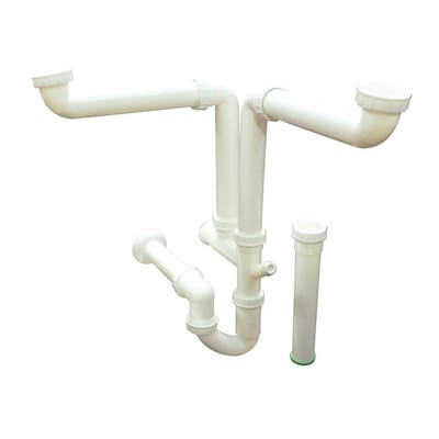 Transolid White Kitchen Sink Drain Kit At Lowes Com