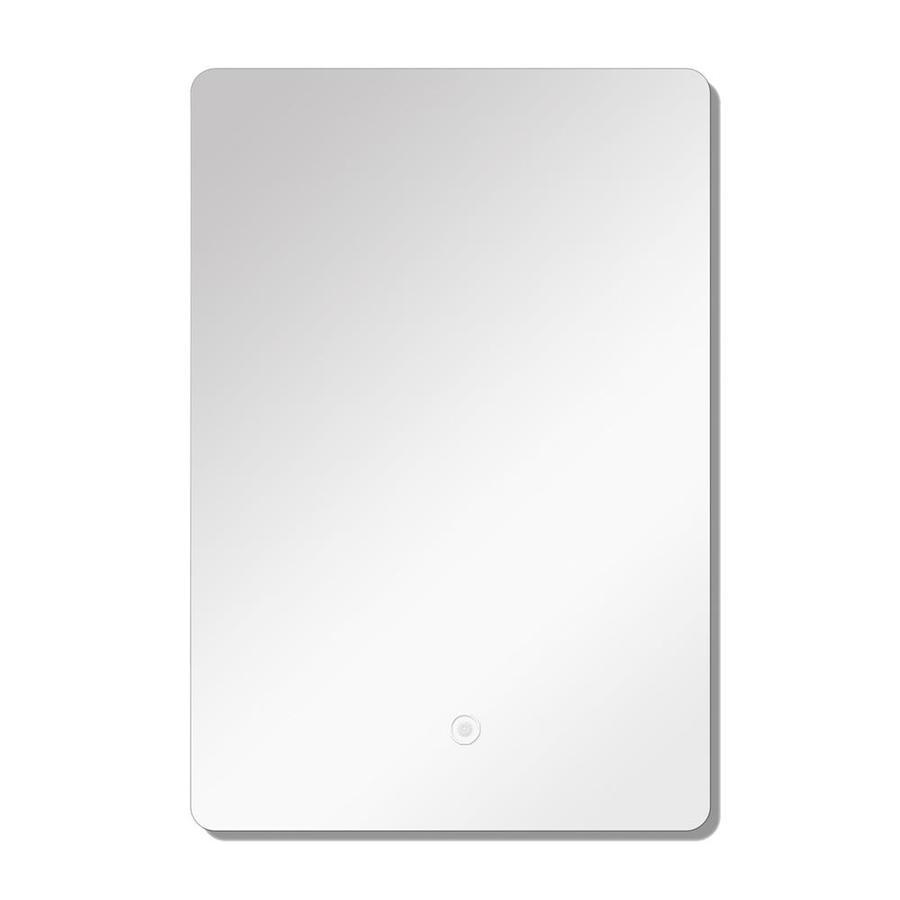 Transolid Skylar 23 62 In Silver Rectangular Frameless