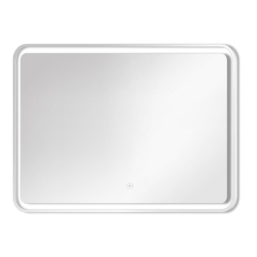Transolid gabriel silver rectangular frameless - Silver bathroom mirror rectangular ...