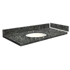 Transolid 33 In Greystone Quartz Single Sink Bathroom Vanity Top In The Bathroom Vanity Tops Department At Lowes Com