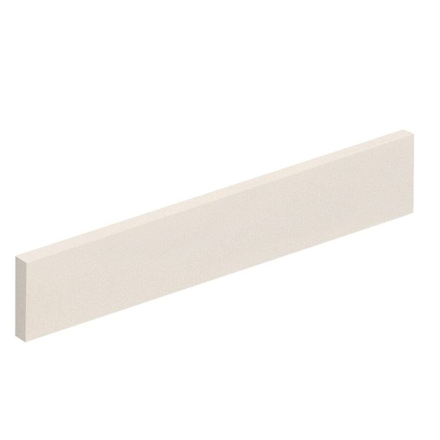 Transolid 422-in L Cream Bathroom Side Splash
