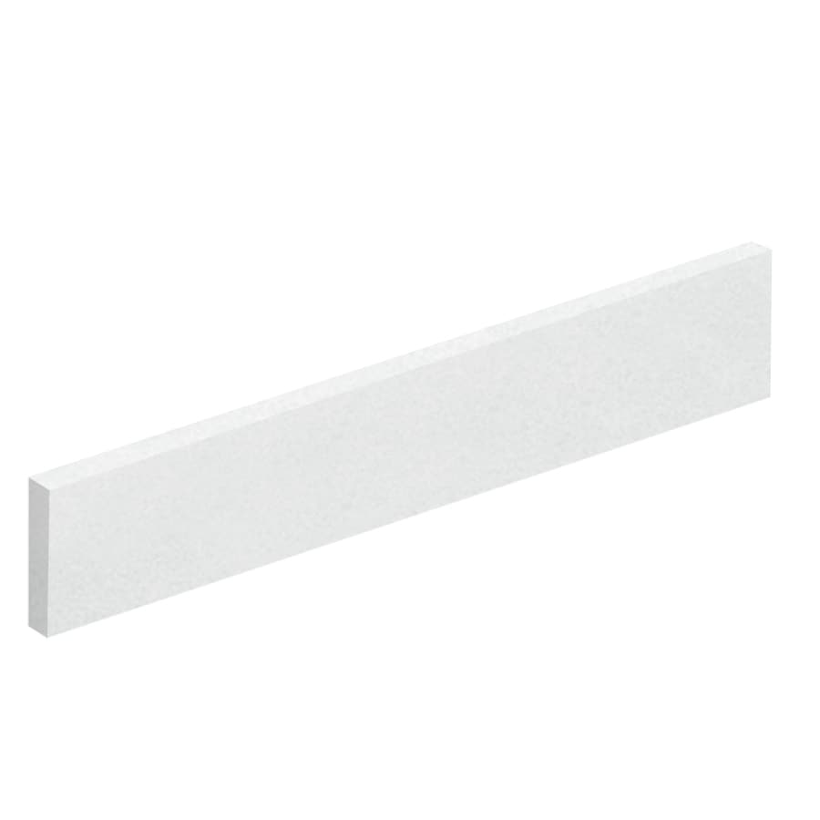Transolid 422-in L Matrix White Bathroom Side Splash
