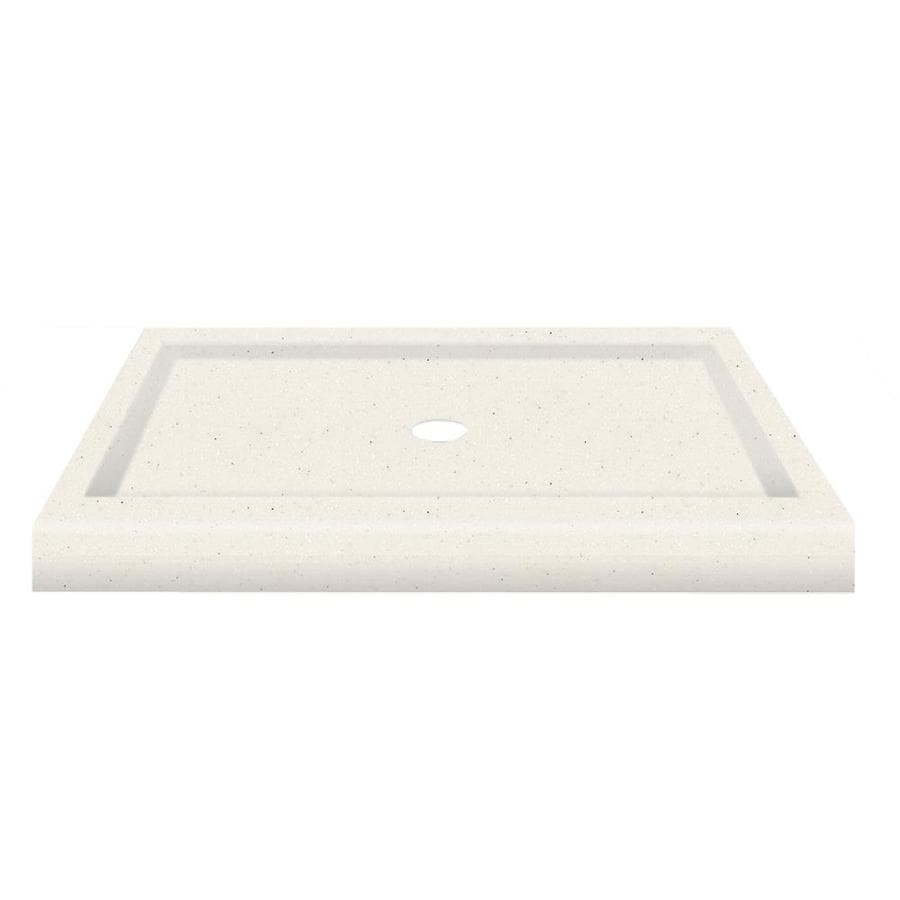 Transolid Decor Matrix Summit Solid Surface Shower Base (Common: 32-in W x 48-in L; Actual: 32-in W x 48-in L)