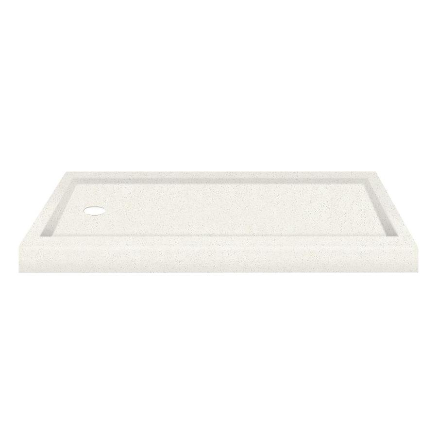 Transolid Decor Matrix Summit Solid Surface Shower Base (Common: 32-in W x 60-in L; Actual: 32-in W x 60-in L)