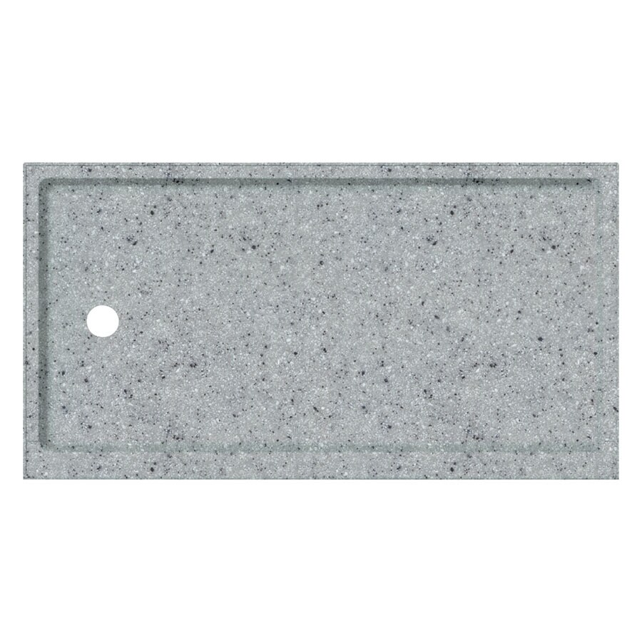 Transolid Matrix Dusk Fiberglass and Plastic Composite Shower Base (Common: 32-in W x 60-in L; Actual: 32-in W x 60-in L)