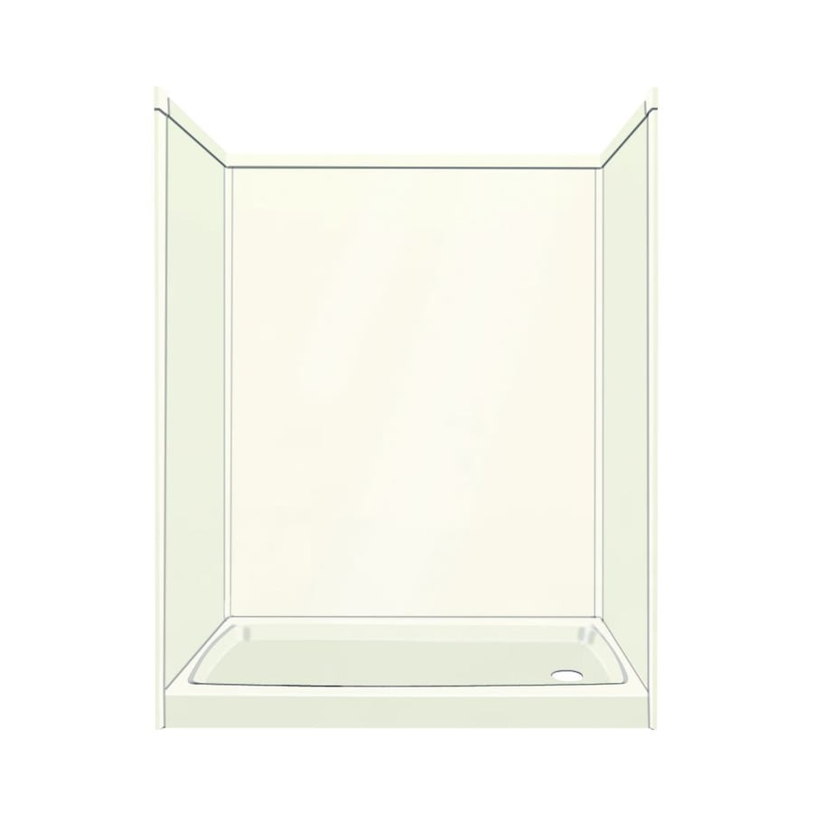 Transolid Decor Cameo Shower Wall Surround Side And Back Wall Kit (Common: 32-in x 60-in; Actual: 96-in x 32-in x 60-in)