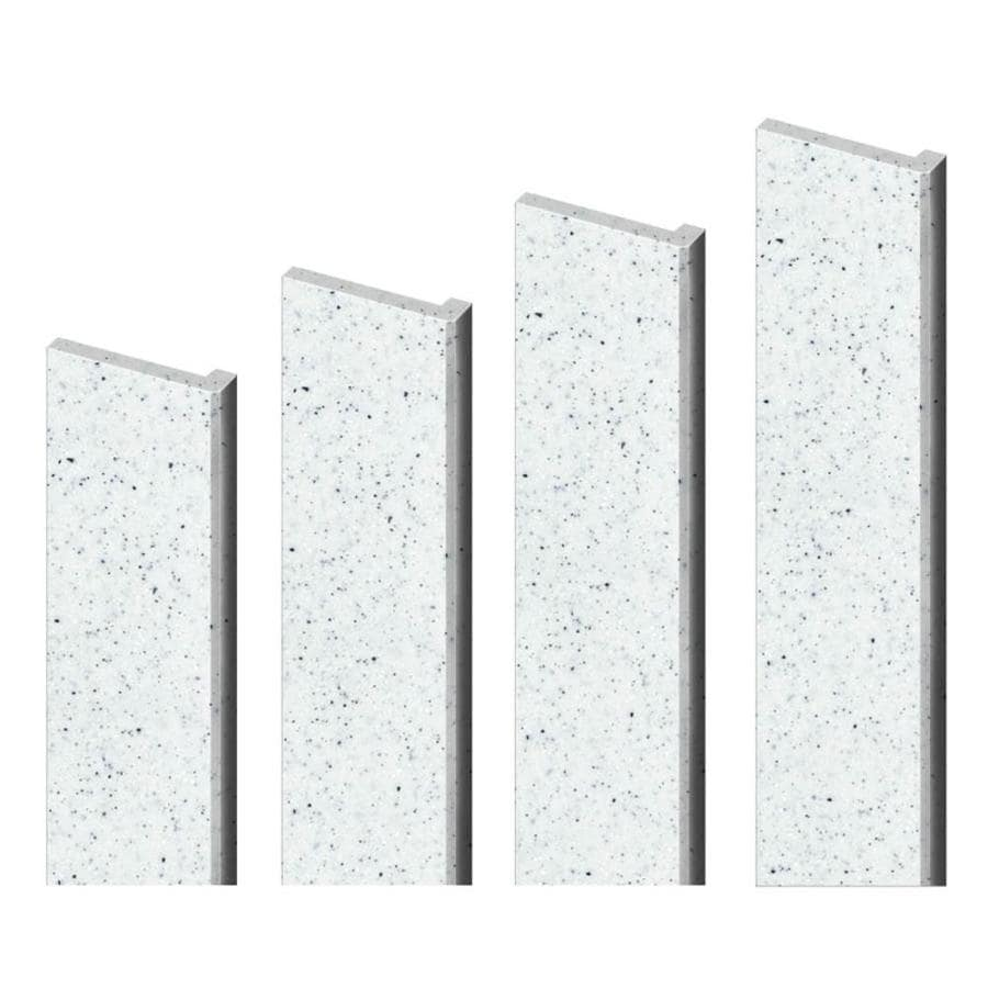 Transolid Decor Matrix White Shower Wall Trim Kit