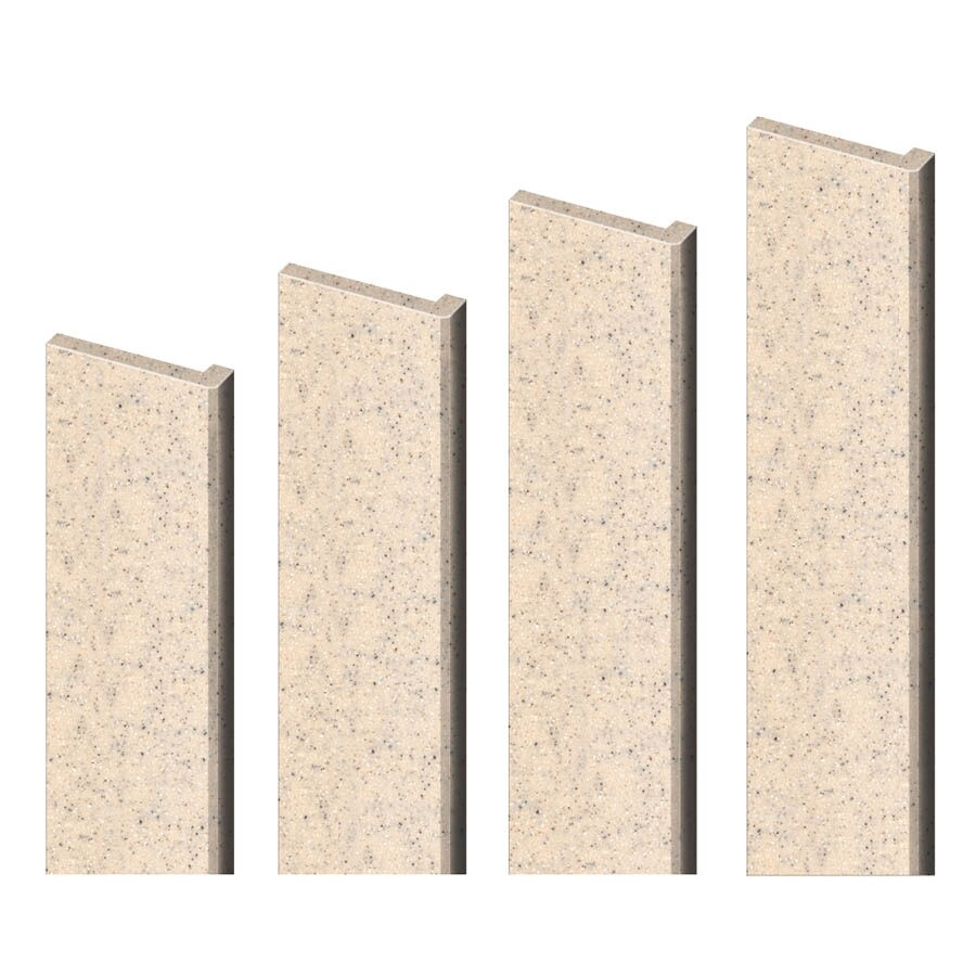 Transolid Decor Matrix Khaki Sand Shower Wall Trim Kit