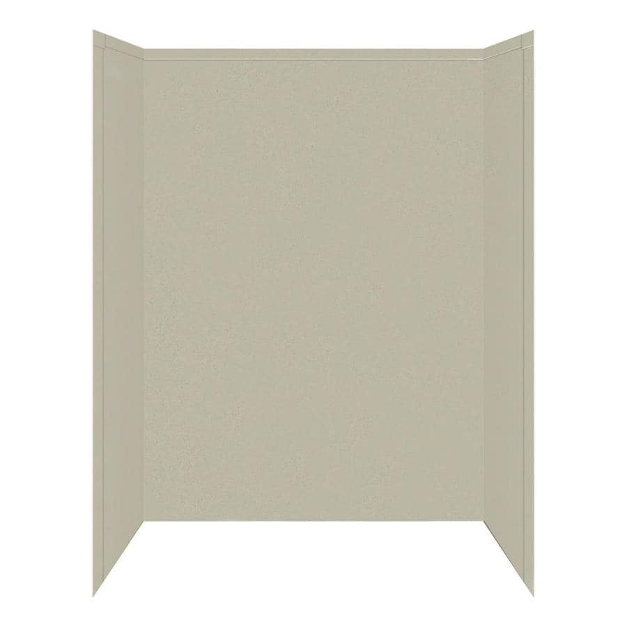 Transolid Decor Desert Earth Shower Wall Surround Side and Back Panels (Common: 32-in x 60-in; Actual: 72-in x 32-in x 60-in)