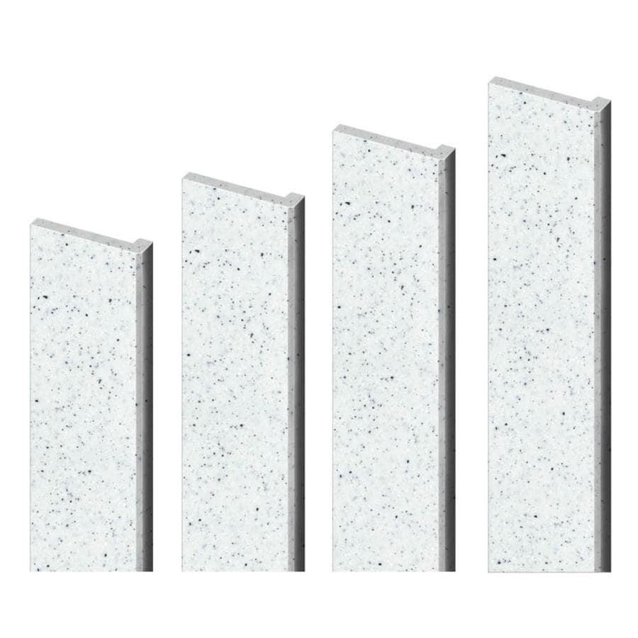 Transolid Decor Matrix White Shower Wall Trim Kit