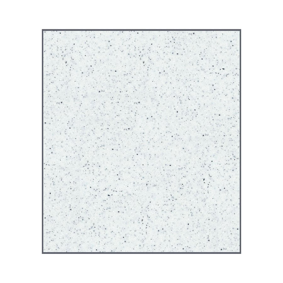 Transolid Decor Matrix White/Speckled White Shower Wall Surround Side Panel (Common: 0.25-in x 32-in; Actual: 60-in x 0.25-in x 32-in)