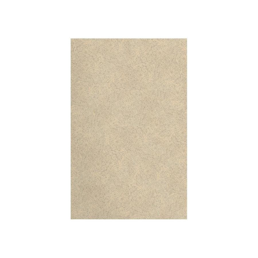 Transolid Decor Matrix Khaki/Sunset Sand Shower Wall Surround Side Panel (Common: 0.25-in x 32-in; Actual: 60-in x 0.25-in x 32-in)