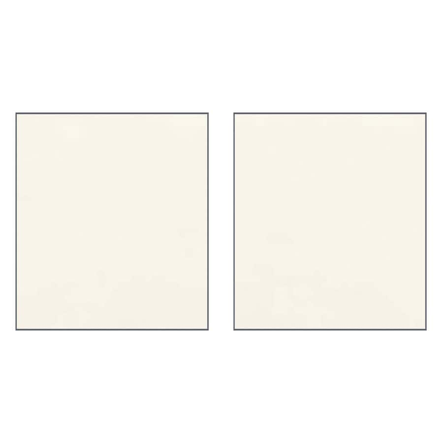Transolid Decor Cameo/Cream Shower Wall Surround Side Panel (Common: 0.25-in x 32-in; Actual: 72-in x 0.25-in x 32-in)