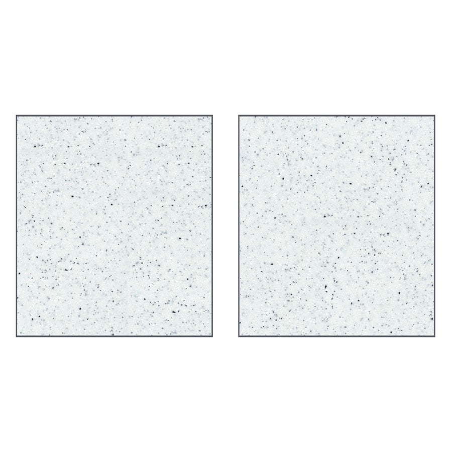 Transolid Decor Matrix White Shower Wall Surround Side Wall Panel Kit (Common: 0.25-in x 32-in; Actual: 72-in x 0.25-in x 32-in)