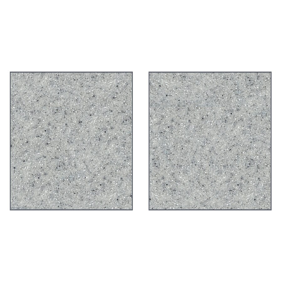 Transolid Decor Matrix Dusk/Stone Shower Wall Surround Side Panel (Common: 0.25-in x 32-in; Actual: 72-in x 0.25-in x 32-in)