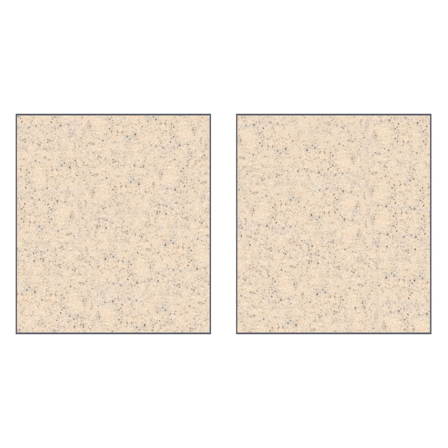 Transolid Decor Matrix Khaki/Sunset Sand Shower Wall Surround Side Panel (Common: 0.25-in x 32-in; Actual: 72-in x 0.25-in x 32-in)