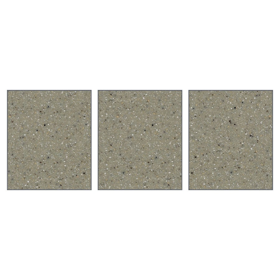 Transolid Decor Desert Earth Shower Wall Surround Side Panel (Common: 0.25-in x 32-in; Actual: 72-in x 0.25-in x 32-in)