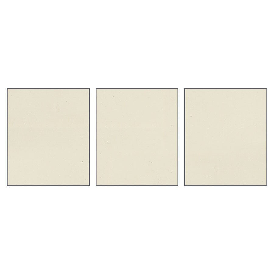 Transolid Decor Biscuit/Buff Shower Wall Surround Side Panel (Common: 0.25-in x 32-in; Actual: 72-in x 0.25-in x 32-in)