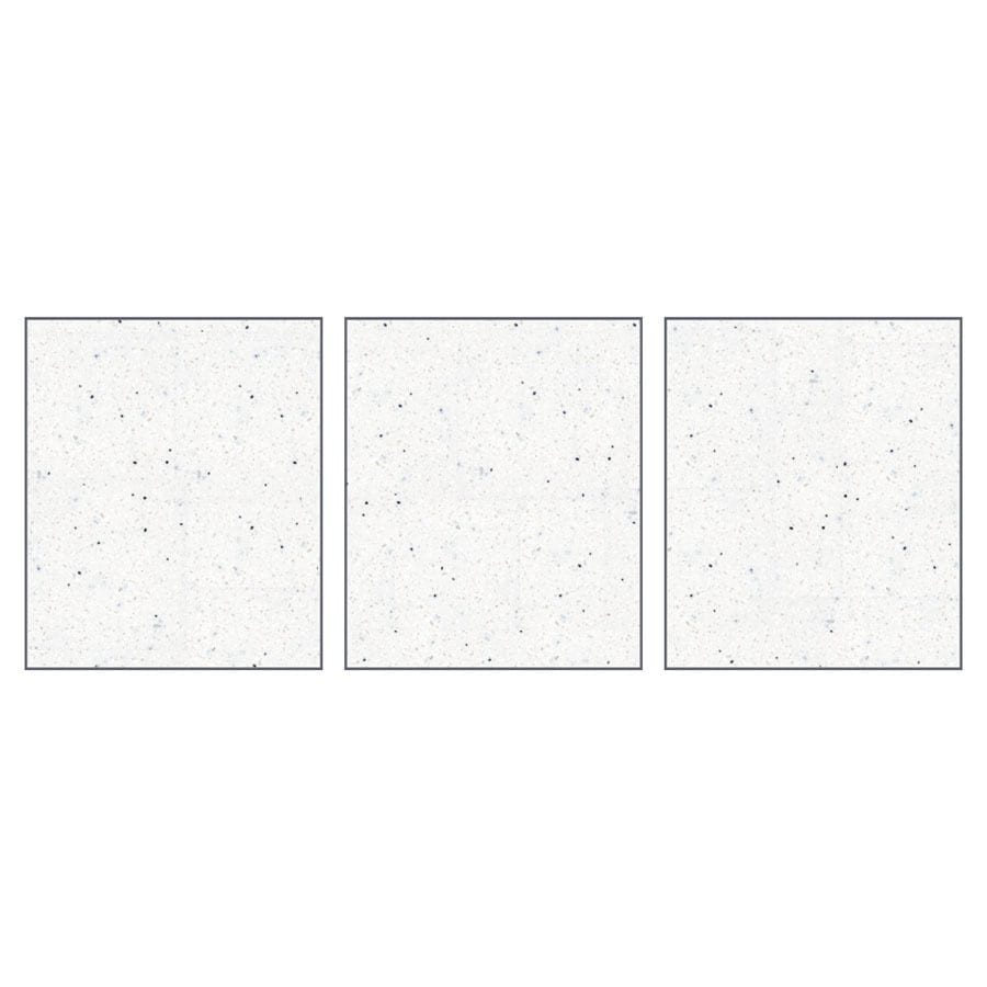 Transolid Decor Matrix Summit/Alabaster Shower Wall Surround Side Panel (Common: 0.25-in x 32-in; Actual: 72-in x 0.25-in x 32-in)