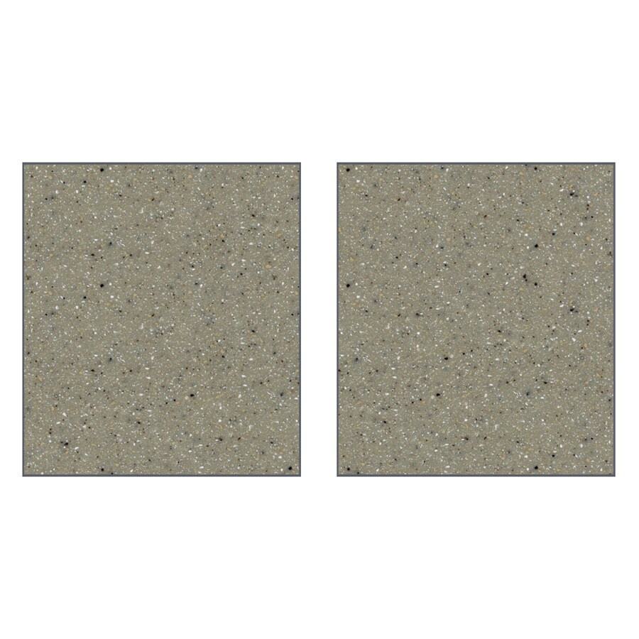 Transolid Decor Peppered Sage Shower Wall Surround Side Wall Panel Kit (Common: 0.25-in x 36-in; Actual: 72-in x 0.25-in x 36-in)