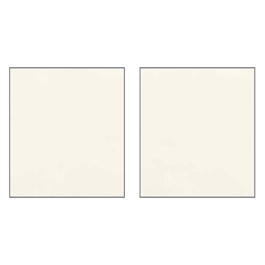 Transolid Decor Cameo/Cream Shower Wall Surround Side Panel (Common: 0.25-in x 36-in; Actual: 72-in x 0.25-in x 36-in)