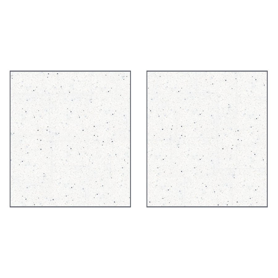 Transolid Decor Matrix Summit/Alabaster Shower Wall Surround Side Panel (Common: 0.25-in x 36-in; Actual: 72-in x 0.25-in x 36-in)