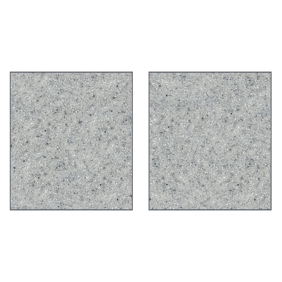 Transolid Decor Matrix Dusk/Stone Shower Wall Surround Side Panel (Common: 0.25-in x 36-in; Actual: 72-in x 0.25-in x 36-in)