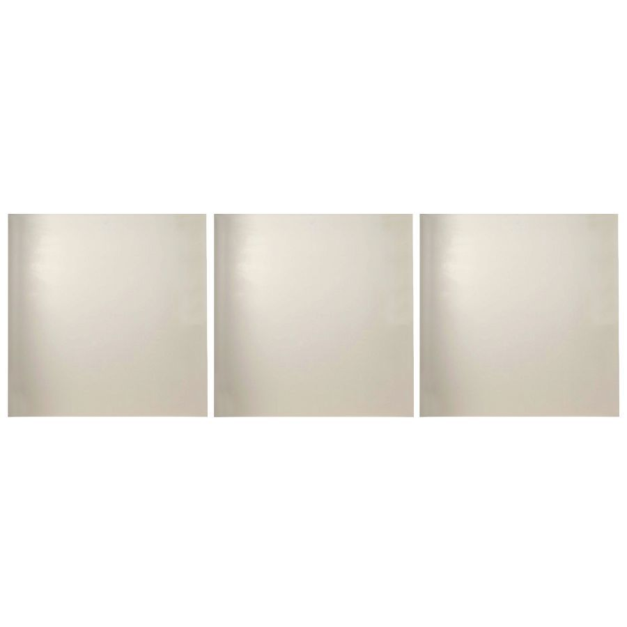 Transolid Decor Biscuit/Buff Shower Wall Surround Side Panel (Common: 0.25-in x 36-in; Actual: 72-in x 0.25-in x 36-in)