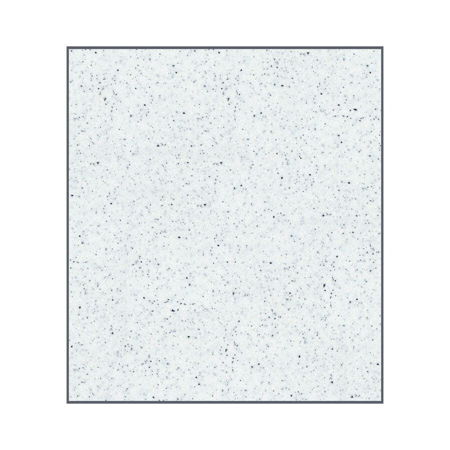 Transolid Decor Matrix White/Speckled White Shower Wall Surround Side Panel (Common: 0.25-in x 36-in; Actual: 96-in x 0.25-in x 36-in)