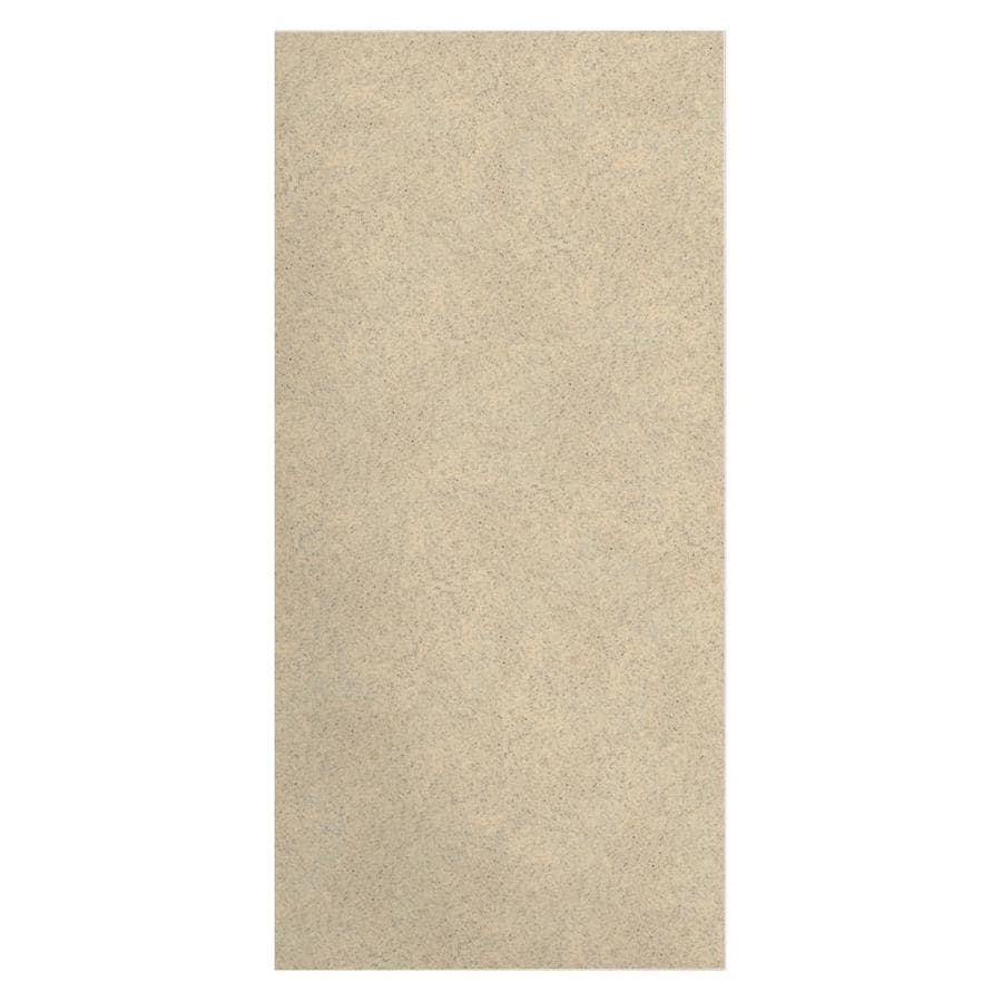 Transolid Decor Matrix Khaki Shower Wall Surround Side Wall Panel (Common: 0.25-in x 36-in; Actual: 96-in x 0.25-in x 36-in)