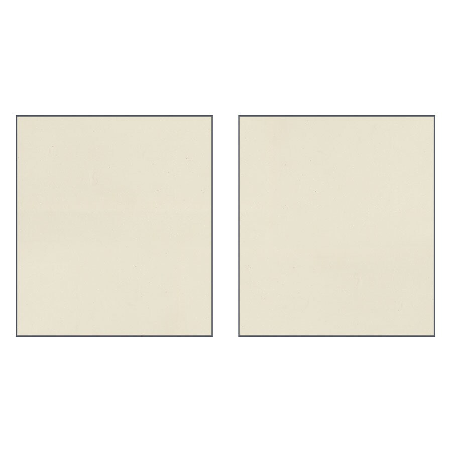 Transolid Decor Biscuit/Buff Shower Wall Surround Side Panel (Common: 0.25-in x 36-in; Actual: 96-in x 0.25-in x 36-in)