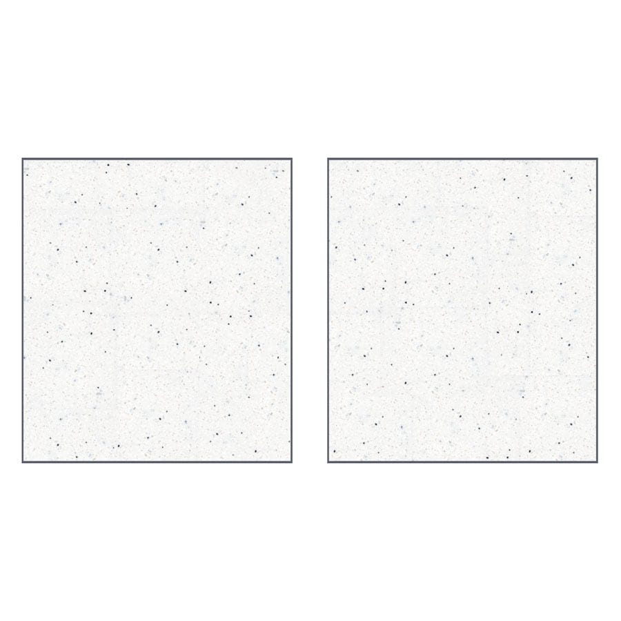 Transolid Decor Matrix Summit/Alabaster Shower Wall Surround Side Panel (Common: 0.25-in x 36-in; Actual: 96-in x 0.25-in x 36-in)
