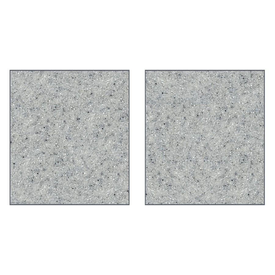 Transolid Decor Matrix Dusk/Stone Shower Wall Surround Side Panel (Common: 0.25-in x 36-in; Actual: 96-in x 0.25-in x 36-in)