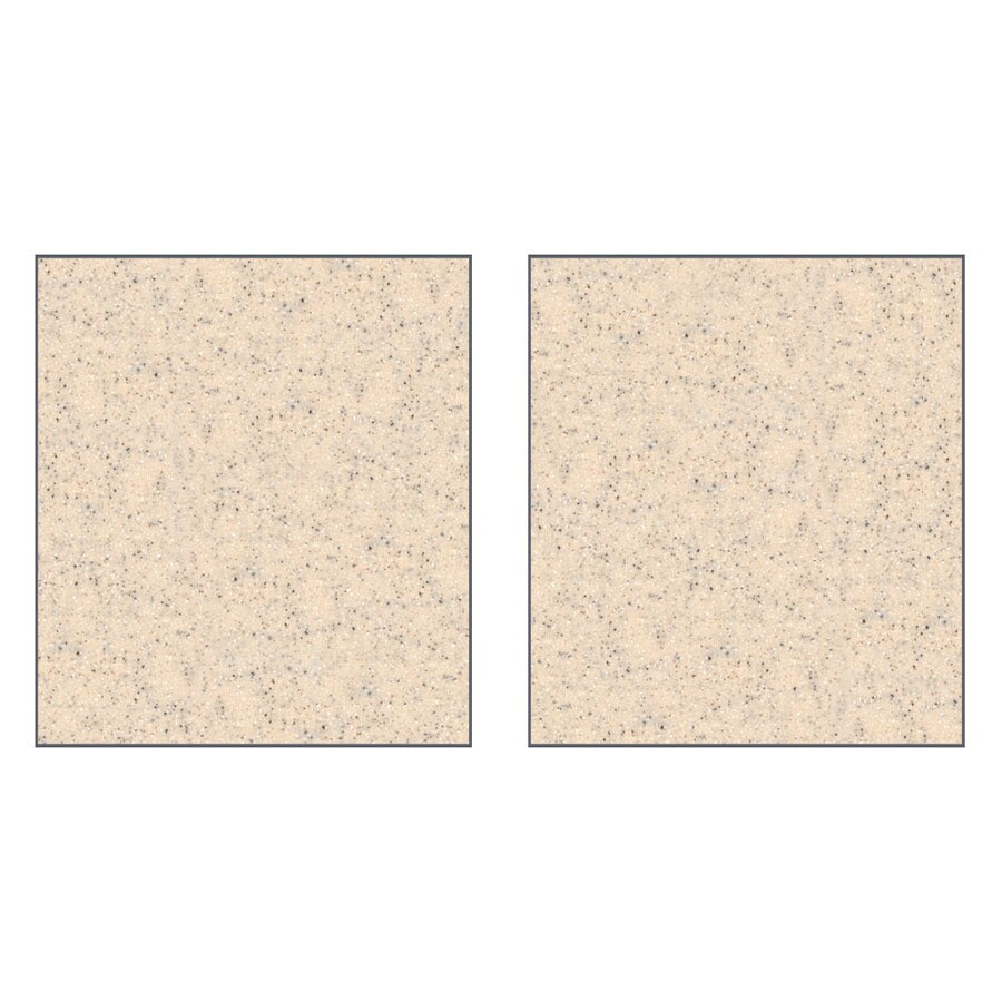 Transolid Decor Matrix Khaki/Sunset Sand Shower Wall Surround Side Panel (Common: 0.25-in x 36-in; Actual: 96-in x 0.25-in x 36-in)