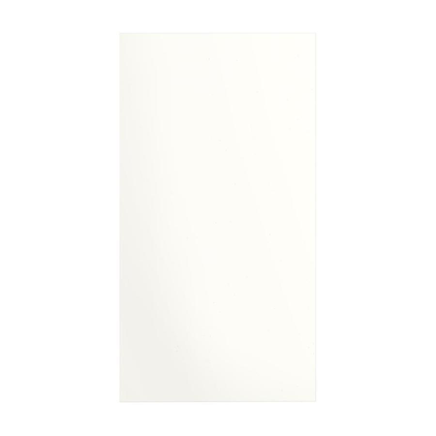 Transolid Decor White/Snow Shower Wall Surround Side Panel (Common: 0.25-in x 38-in; Actual: 72-in x 0.25-in x 38-in)
