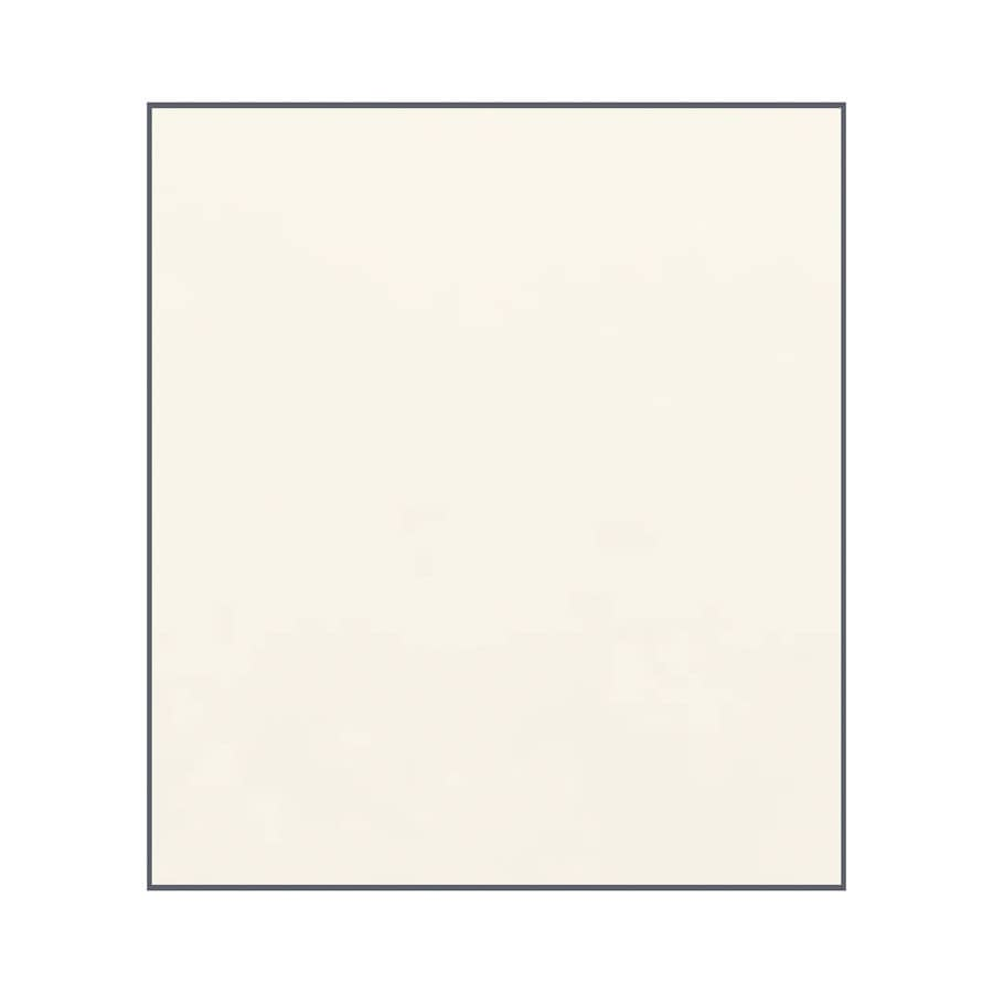Transolid Decor Cameo/Cream Shower Wall Surround Side Panel (Common: 0.25-in x 38-in; Actual: 72-in x 0.25-in x 38-in)
