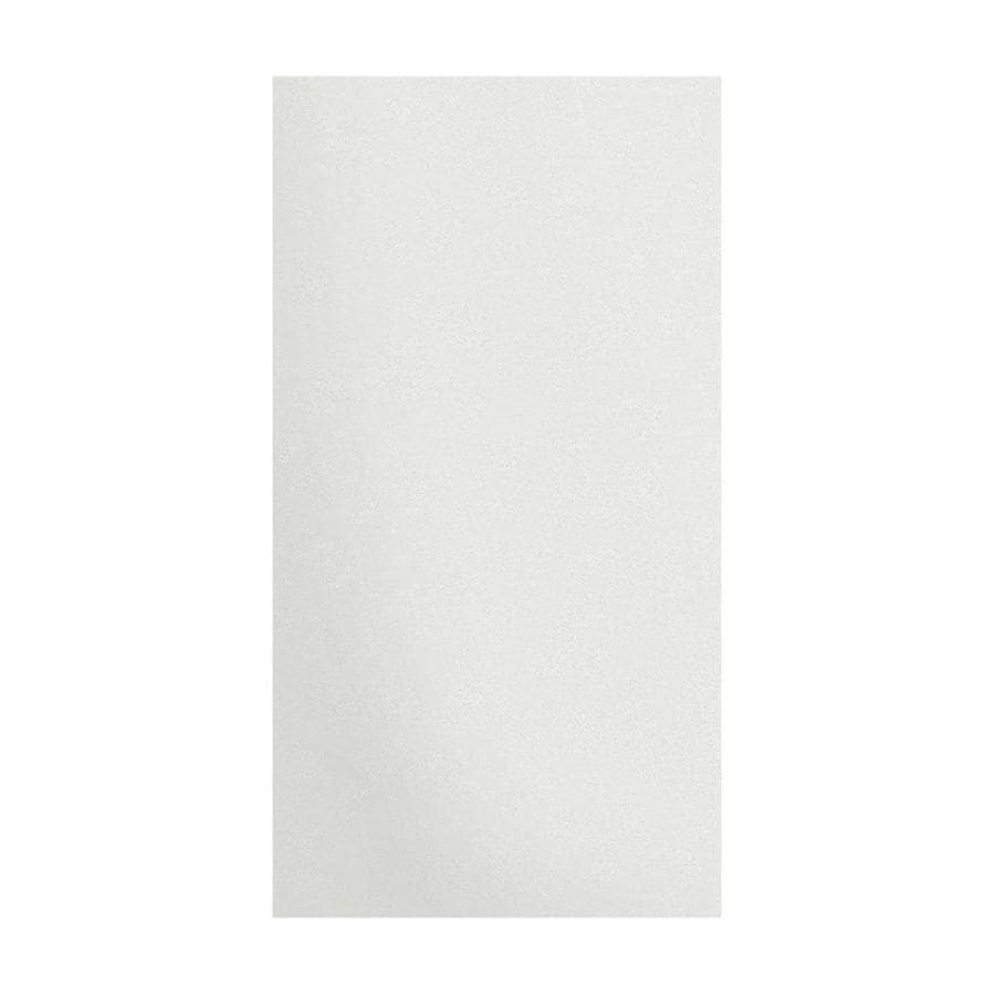 Transolid Decor Matrix White/Speckled White Shower Wall Surround Side Panel (Common: 0.25-in x 38-in; Actual: 72-in x 0.25-in x 38-in)