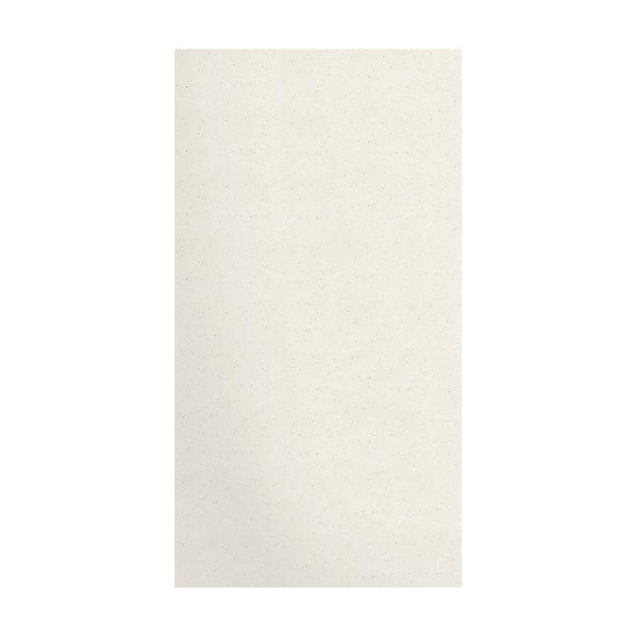 Transolid Decor Matrix Summit/Alabaster Shower Wall Surround Side Panel (Common: 0.25-in x 38-in; Actual: 72-in x 0.25-in x 38-in)