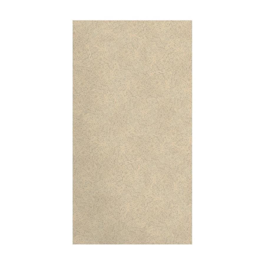 Transolid Decor Matrix Khaki/Sunset Sand Shower Wall Surround Side Panel (Common: 0.25-in x 38-in; Actual: 72-in x 0.25-in x 38-in)