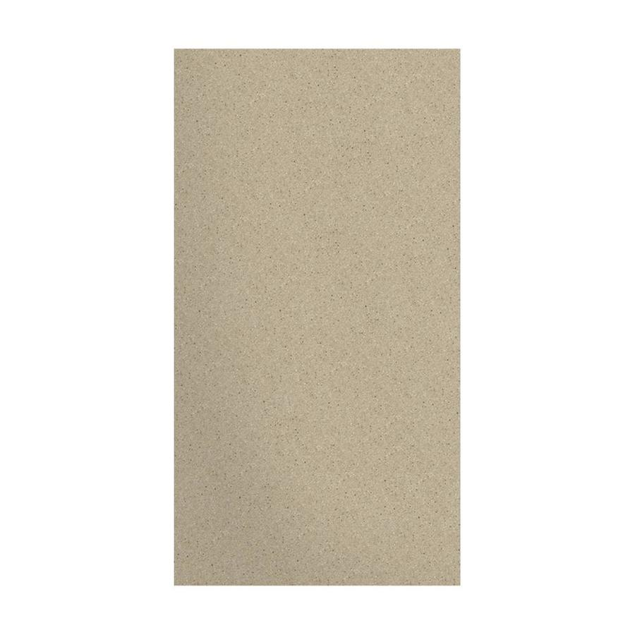Transolid Decor Matrix Sand Shower Wall Surround Side Panel (Common: 0.25-in x 38-in; Actual: 72-in x 0.25-in x 38-in)