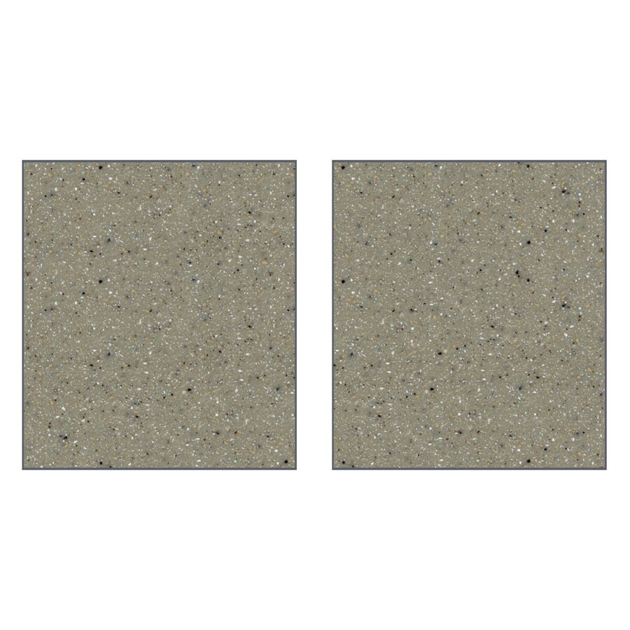 Transolid Decor Desert Earth Shower Wall Surround Side Panel (Common: 0.25-in x 38-in; Actual: 72-in x 0.25-in x 38-in)