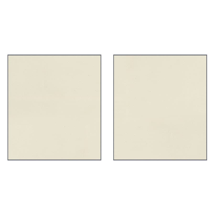 Transolid Decor Biscuit/Buff Shower Wall Surround Side Panel (Common: 0.25-in x 38-in; Actual: 72-in x 0.25-in x 38-in)