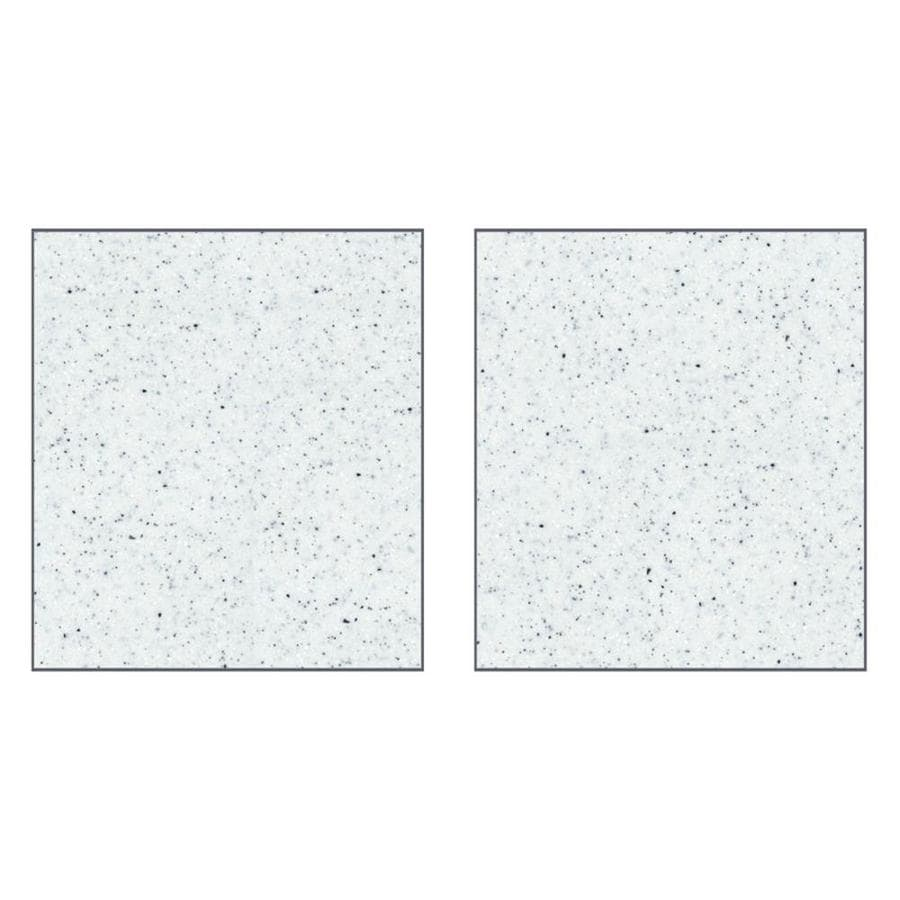 Transolid Decor Matrix White Shower Wall Surround Side Wall Panel Kit (Common: 0.25-in x 38-in; Actual: 72-in x 0.25-in x 38-in)