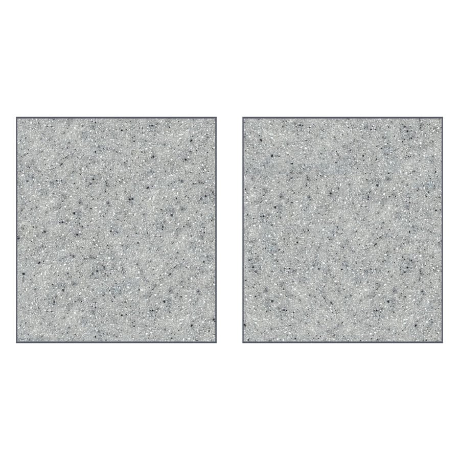 Transolid Decor Matrix Dusk/Stone Shower Wall Surround Side Panel (Common: 0.25-in x 38-in; Actual: 72-in x 0.25-in x 38-in)
