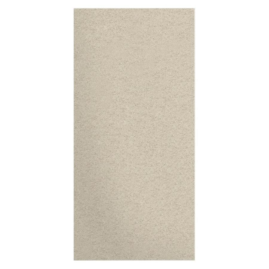 Transolid Decor Desert Earth Shower Wall Surround Side Wall Panel (Common: 0.25-in x 38-in; Actual: 96-in x 0.2500-in x 38-in)