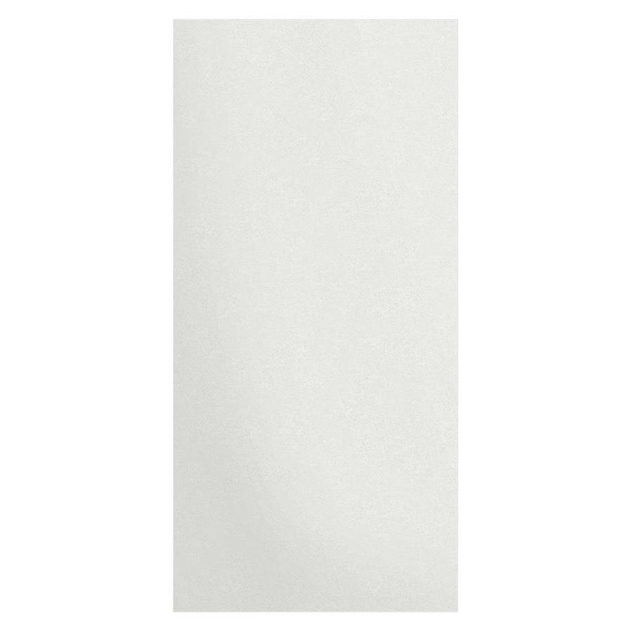 Transolid Decor Matrix White Shower Wall Surround Side Wall Panel (Common: 0.25-in x 38-in; Actual: 96-in x 0.25-in x 38-in)
